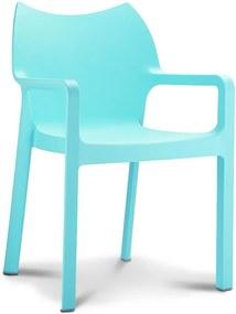 Designstoel Monaco - Licht Blauw