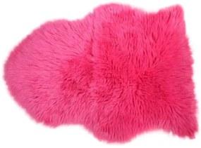 Schapenvacht 65 x 90 cm roze