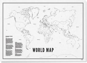 WIJCK World Map print