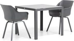 Hartman Sophie element/Mondello 90 cm dining tuinset 3-delig