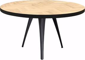 Ronde visgraat tafel Vazy