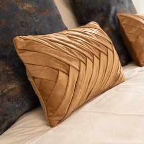 Presence Sierkussenhoes Folded - Goud Kleur: Goud