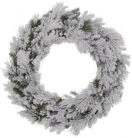 Flocked Fraser Wreath dia. 50 cm
