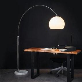 Aantrekkelijke boogvloerlamp Fjella - lampen-24
