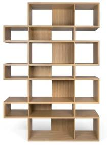 TemaHome London Hoge Design Boekenkast Eiken-eiken - 156x34x220cm.