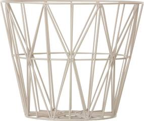 Ferm Living Wire Basket opbergmand grijs small