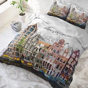 DreamHouse Bedding Old Amsterdam - Multi 1-persoons (140 x 220 cm + 1 kussensloop) Dekbedovertrek