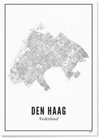 WIJCK Den Haag Stad print