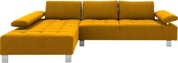 Goossens Design Bank.Gele Moderne Meubels Biano