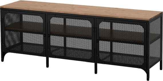 Ikea Tv Meubel Zwartbruin.Houten Ikea Tv Meubels Biano