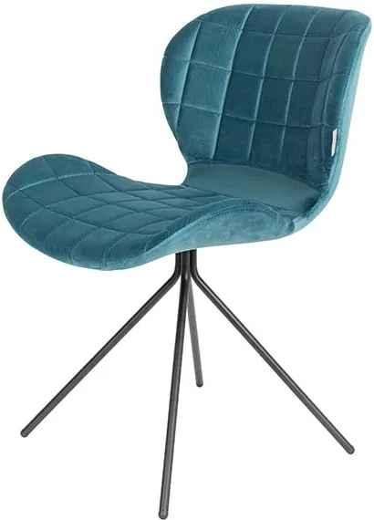 Verwonderlijk Blauwe velours stoelen | Biano XY-17